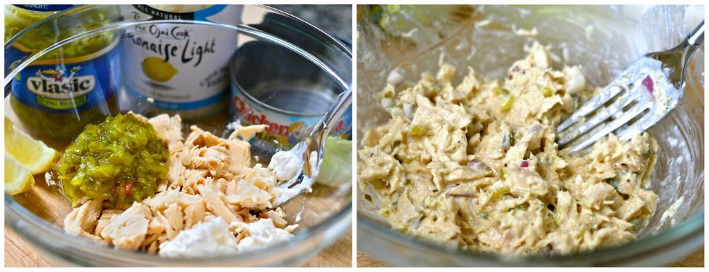 Tuna and Shrimp Salad