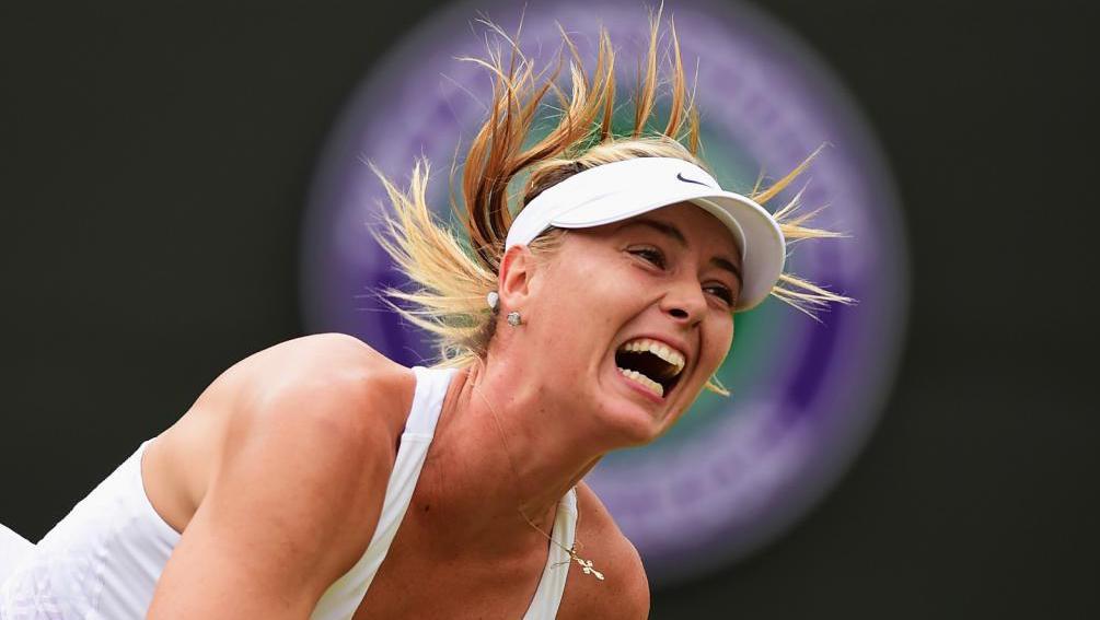 Victory of Maria Sharapova