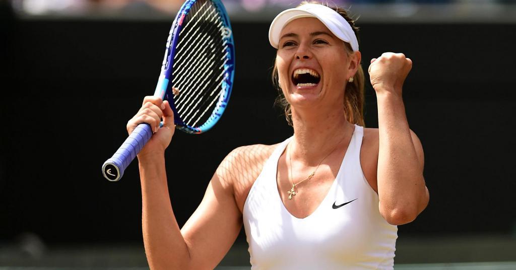 Rating of Maria Sharapova