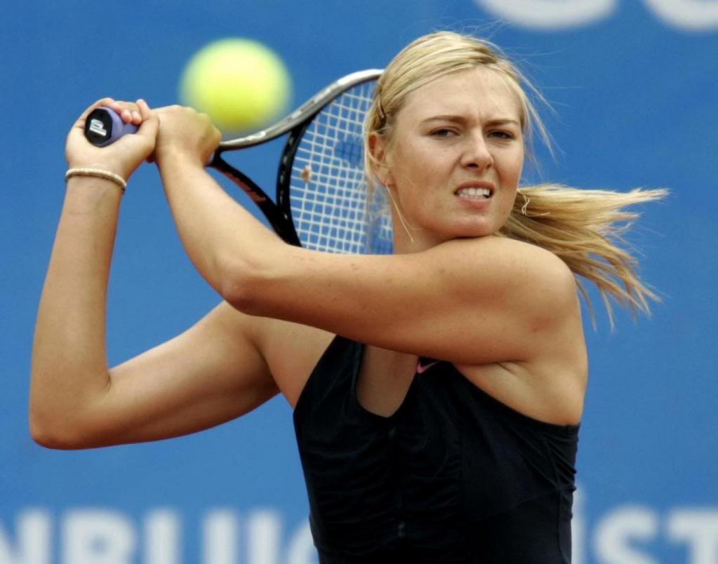 The game of Maria Sharapova