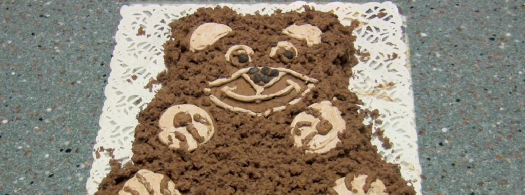 Kids Cake & quot; Bear & quot;