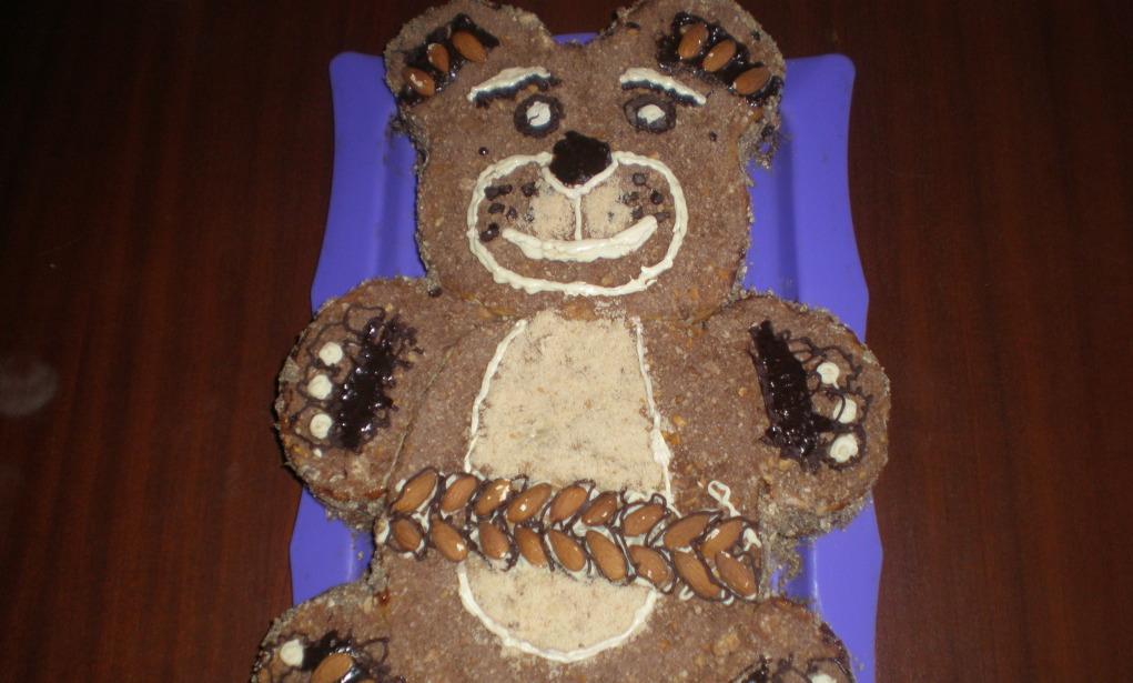 Cake Recipe & quot; Bear & quot;