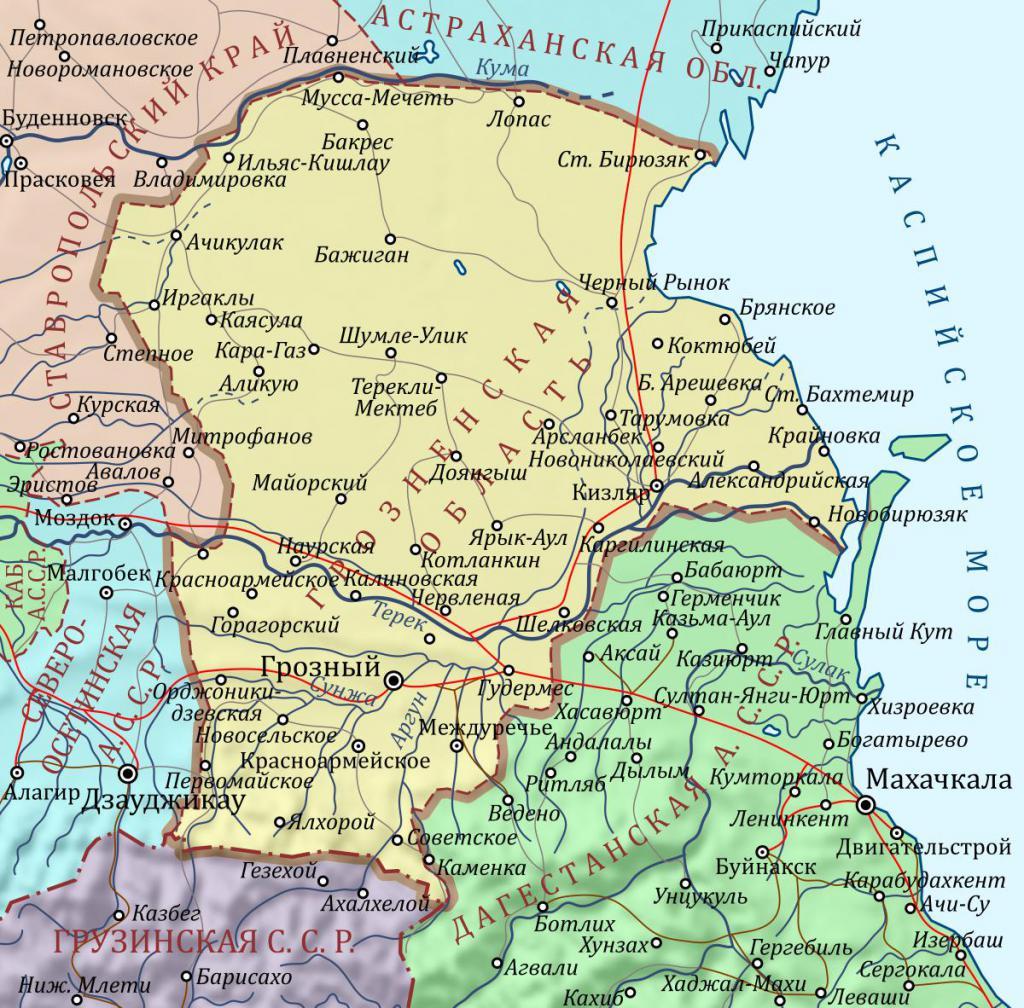 Грозненская область