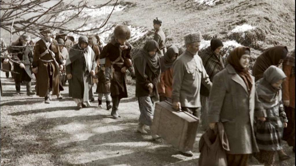 Депортация чеченцев