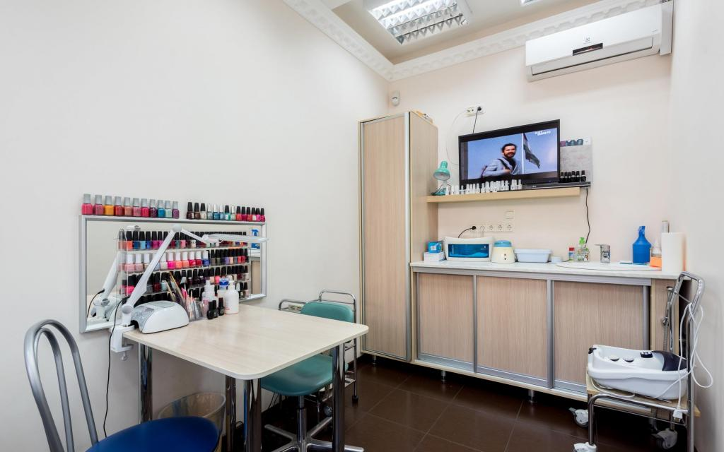 Courses at a beauty school