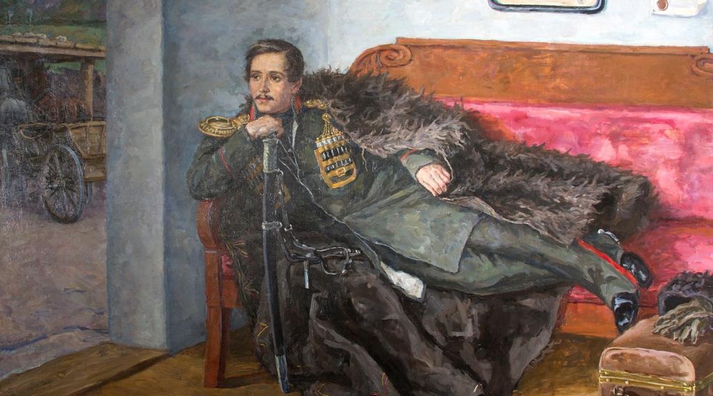 Writer Mikhail Lermontov
