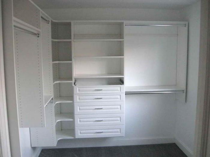 стандартная глубина шкафа купе для одежды