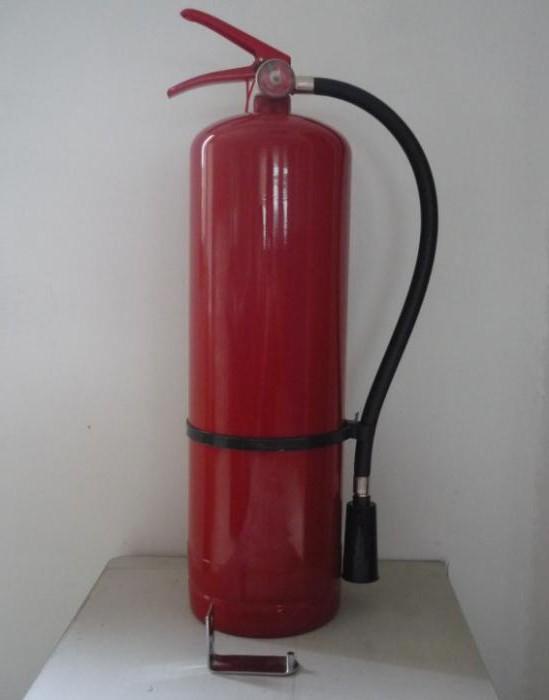 характеристики огнетушителя оп-8
