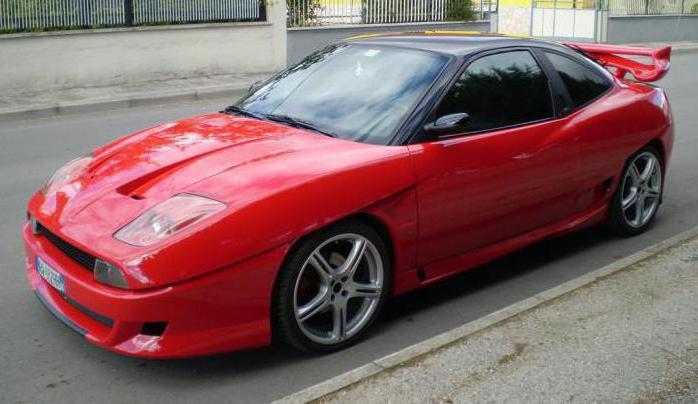 fiat coupe pininfarina отзывы