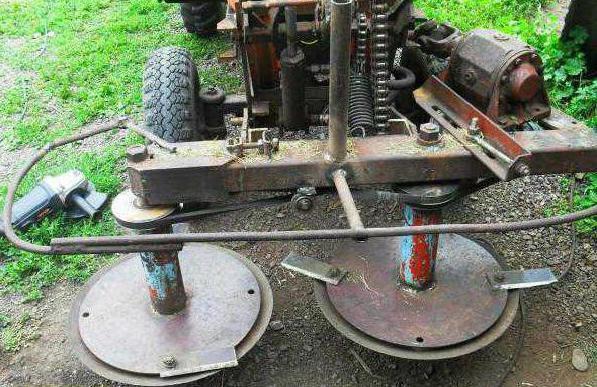 самодельный роторный косилка на мтз
