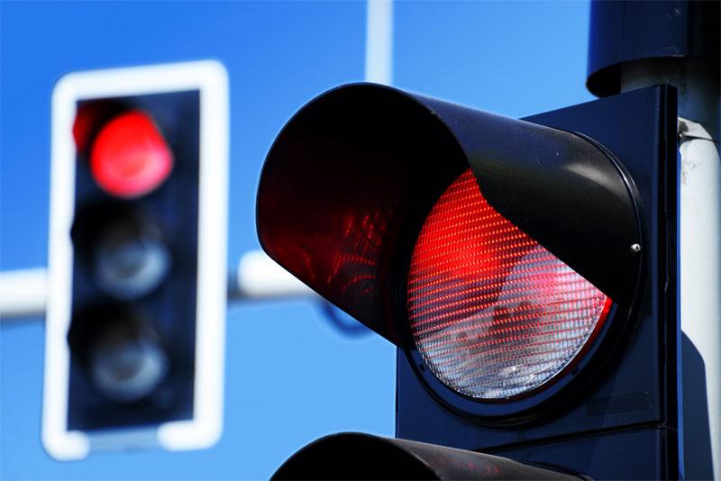 Красный свет, штраф: сумма, наказание за несоблюдение ПДД, последствия