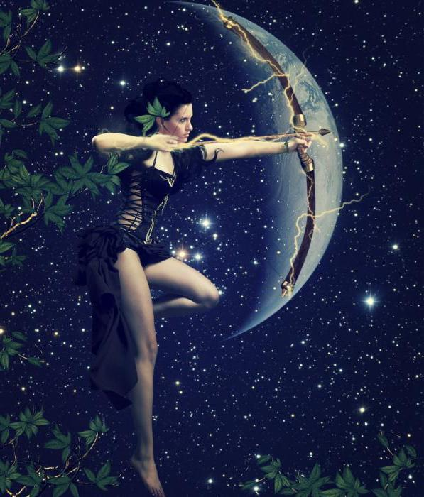 знакомство луна в стрельце у