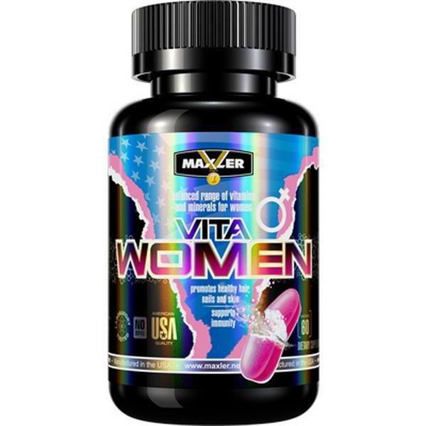 спортивные витамины для женщин vita women