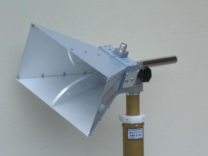 Устройство рупорных антенн для приёма спутникового телевидения