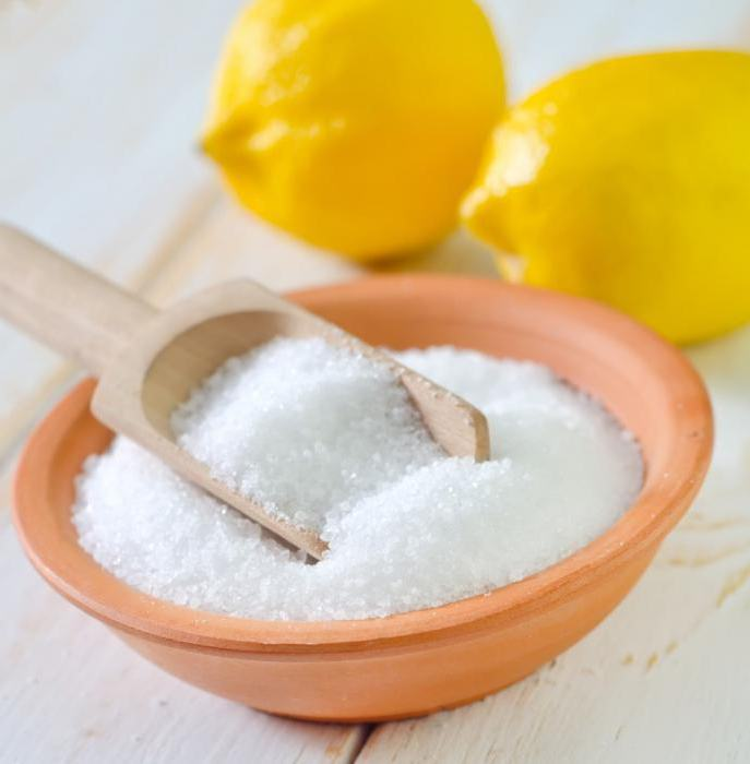 лимонная кислота вместо уксуса