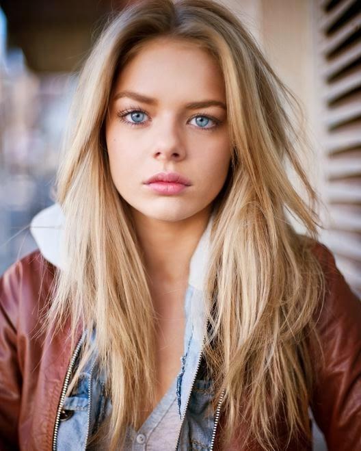цвет волос для голубых глаз
