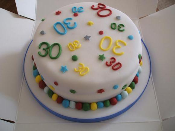 Surprising Cake For 30 Years For A Man A Creative T With The Character Funny Birthday Cards Online Kookostrdamsfinfo
