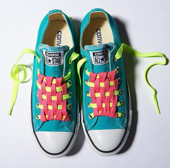 как завязать шнурки на кроссовках без бантика