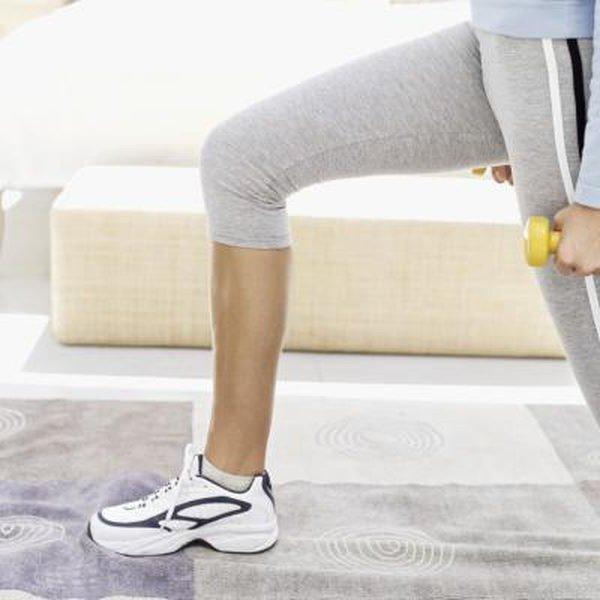 Упражнения для похудения над коленями