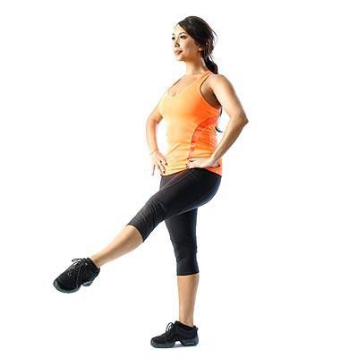 Упражнения для похудения коленей в домашних условиях