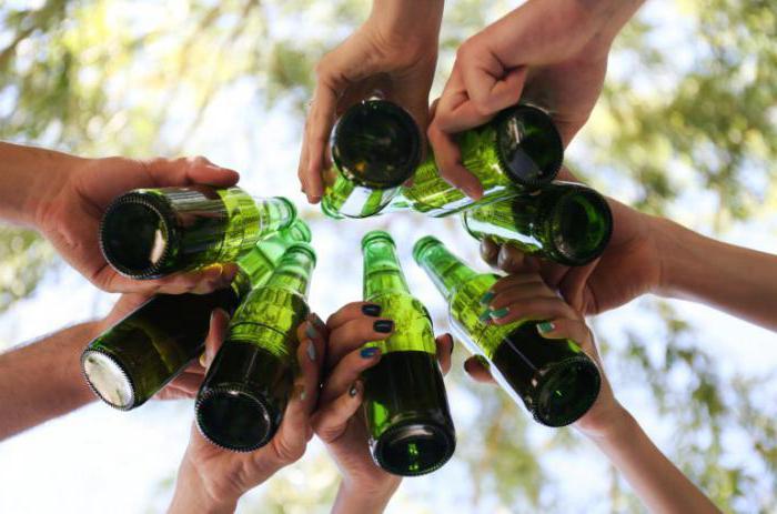 Употребление алкоголя среди подростков