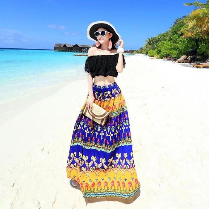 пляжная юбка своими руками