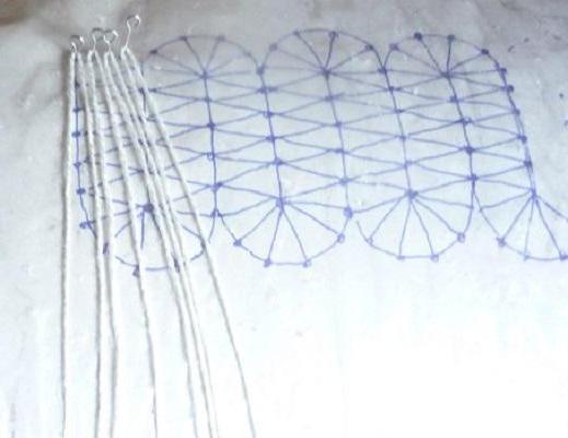 плетение на коклюшках обучение