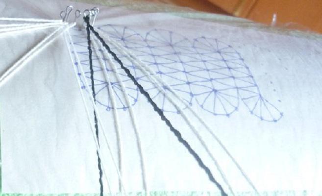 плетение коклюшками мастер класс