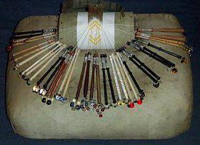 коклюшки для плетения кружева