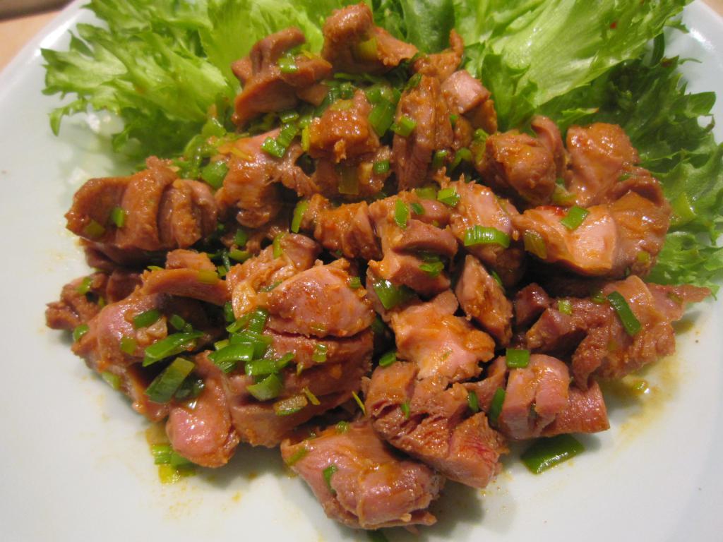 Блюда из куриного сердца рецепты с фото