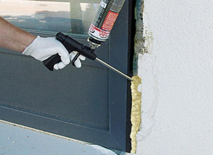 Сколько сохнет монтажная пена при установке дверей