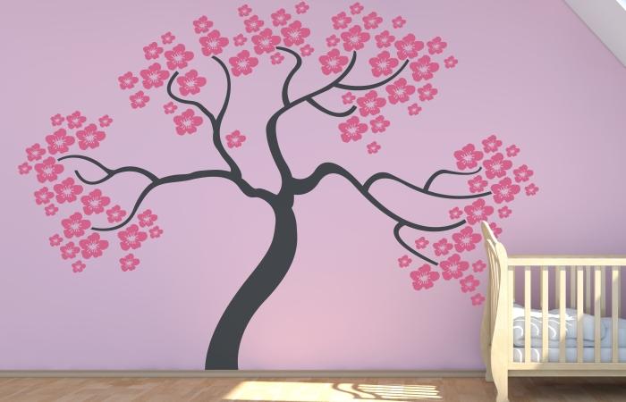 Сакура на стене своими руками: интересные идеи и отзывы