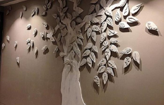 Имитация дерева: описание с фото, идеи применения и техника выполнения работы