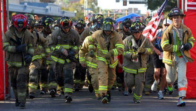 снаряжение американского пожарного