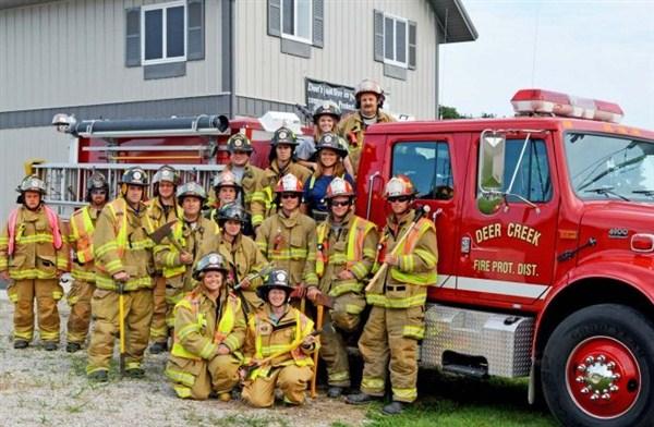 как работают американские пожарные