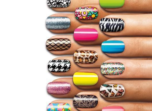 покраска ногтей гель