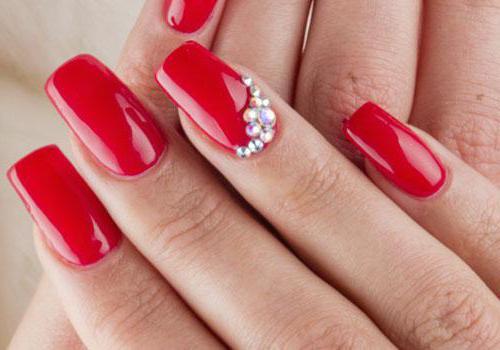 покраска ногтей двумя цветами