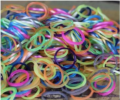 плетение из резиночек на рогатке