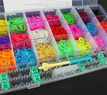 плетение резиночками на рогатке для начинающих