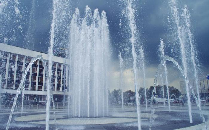 Краснодар площадь театральная