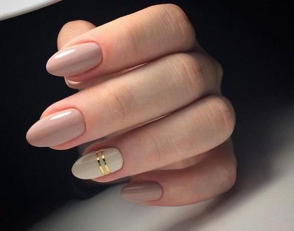Маникюр для средних ногтей в домашних условиях