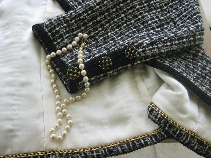 вязание спицами в стиле шанель