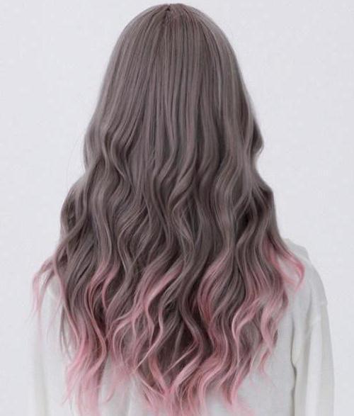 градиент на светлых волосах