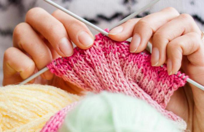 Что такое вязание как процесс