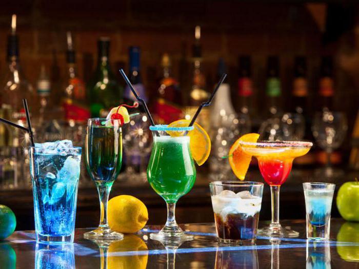 алкогольные коктейли названия