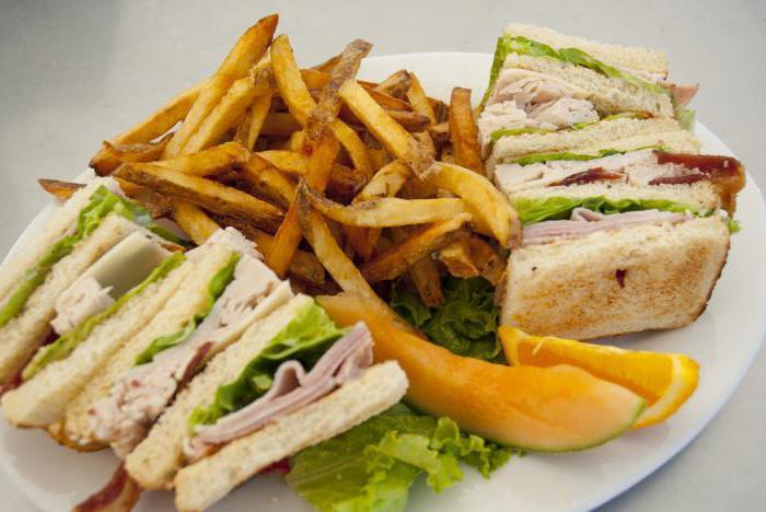что американцы едят на обед