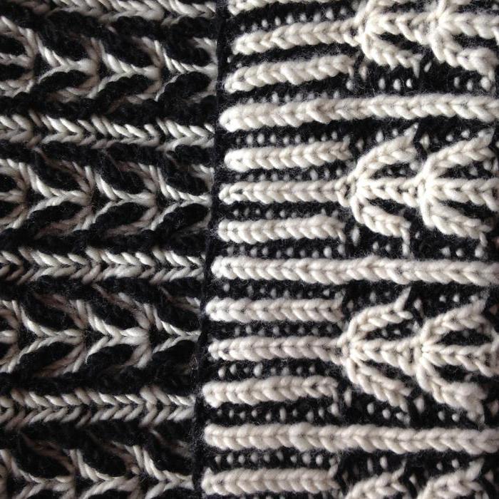 Бриошь вязание спицы