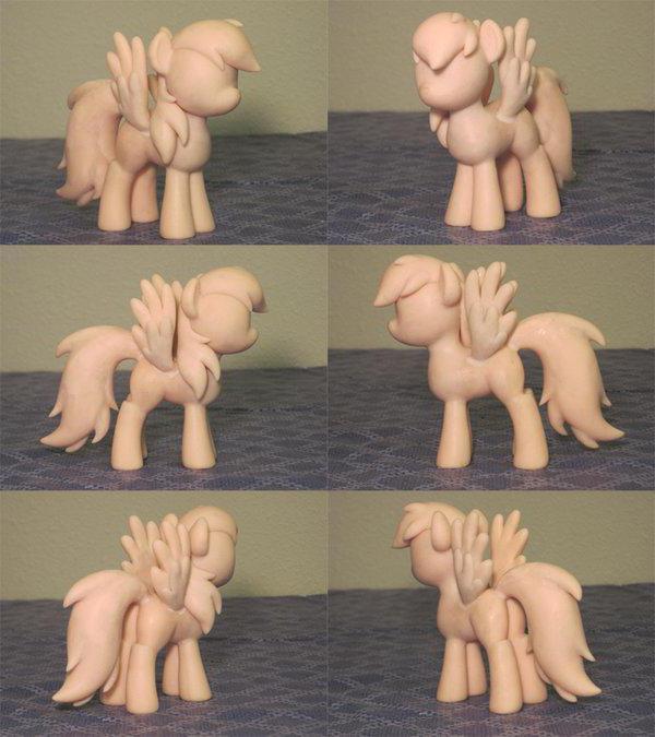 Как слепить пони просто и быстро