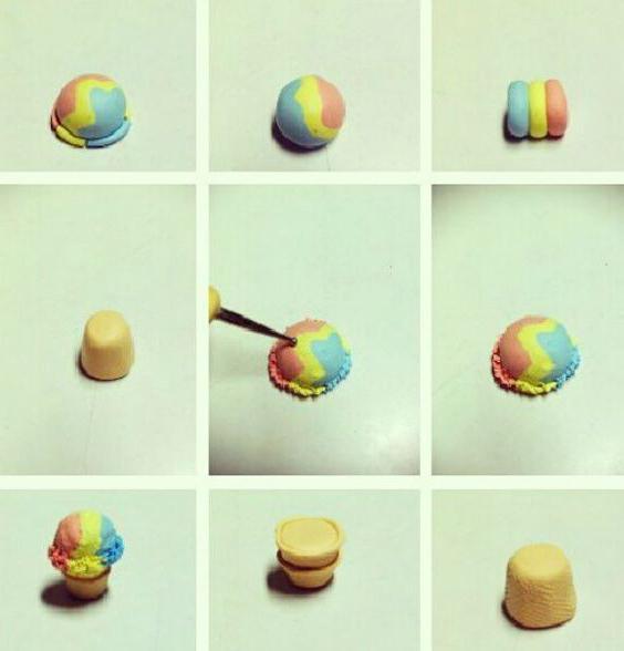 Как сделать из пластилина мороженое? Творим вместе с детьми