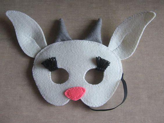 маска козы сделать
